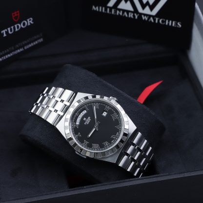 Tudor Royal 41MM Day-Date Black Dial 28600-0003
