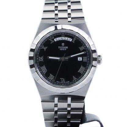 Tudor Royal 41MM Day-Date Black Dial 28600-0003