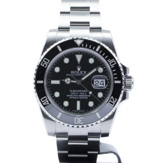 Rolex Submariner Ceramic Date Black Dial 116610LN 2014