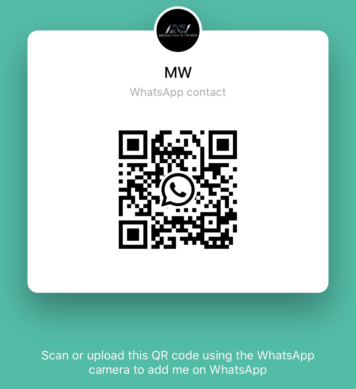 Millenary Watches WhatsApp