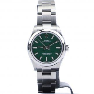 Rolex Oyster Perpetual 31mm 277200 Green Unworn 2020