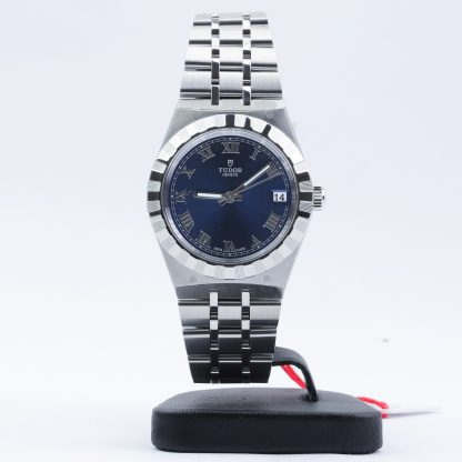 Tudor Royal Date 34mm Blue Roman Dial New 2020