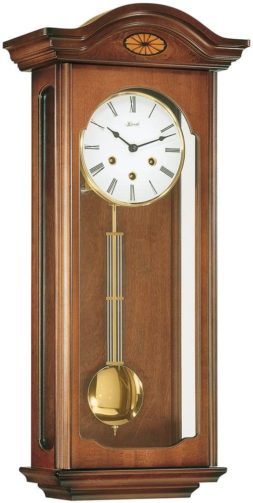 Hermle Oxford Walnut Wall Clock
