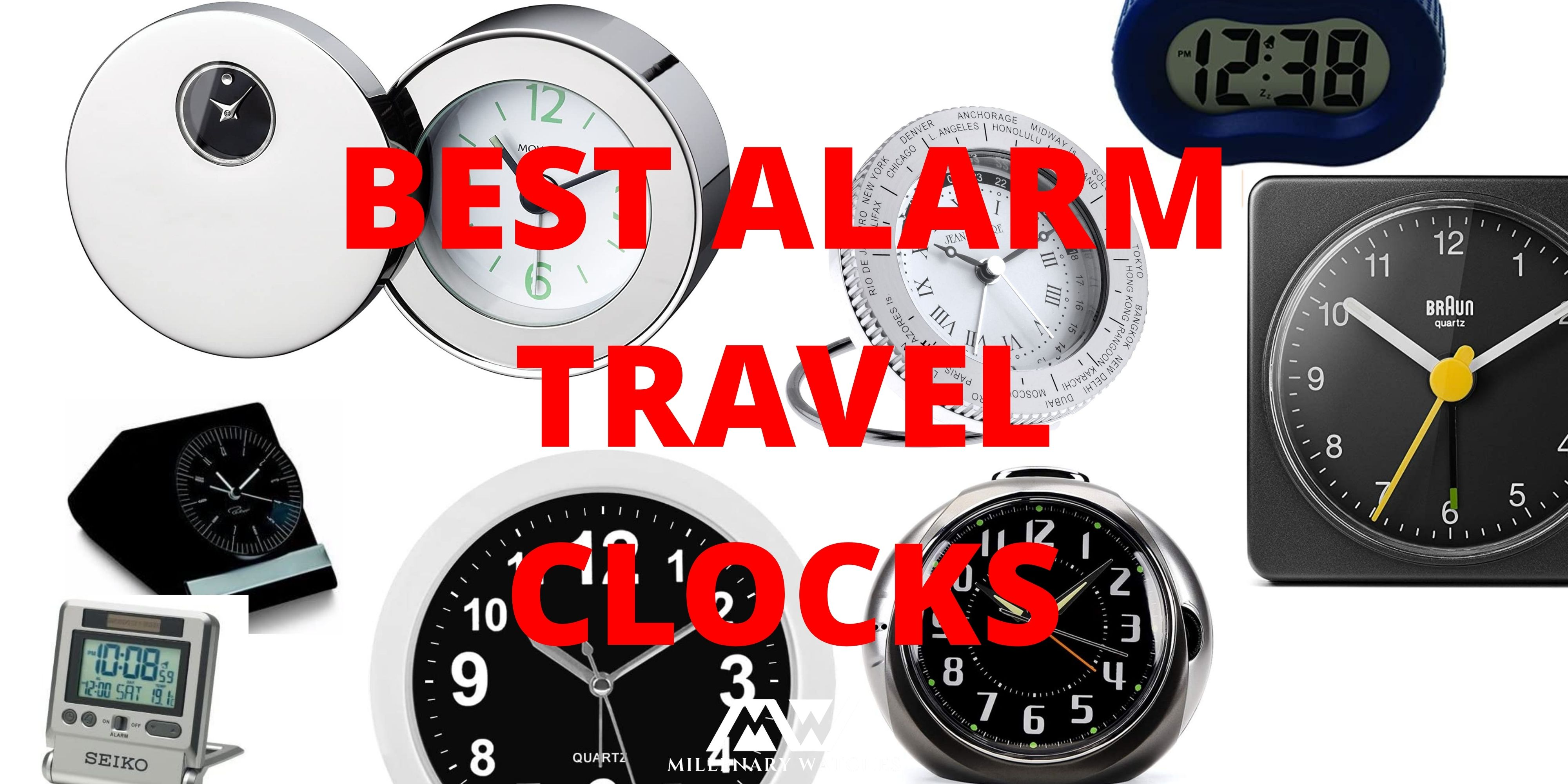 BEST ALARM TRAVEL CLOCKS
