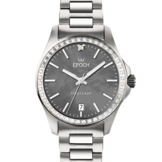 Epoch First Lady Full Diamond Mother of Pearl Gray