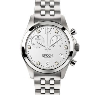 Epoch First Lady Chronograph Scandinavian White