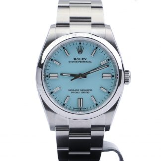 """Rolex Oyster Perpetual 36 126000 Turquoise Blue """"Tiffany"""" Unworn 2020"""
