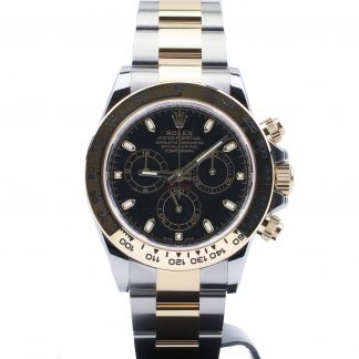 Rolex Daytona Two-Tone Black Dial 116503 Unworn 2020