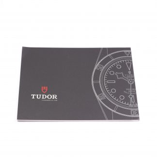 Tudor heritage black bay booklet