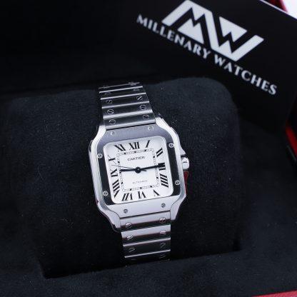 Cartier Santos Medium WSSA0029 Excellent Condition 2020