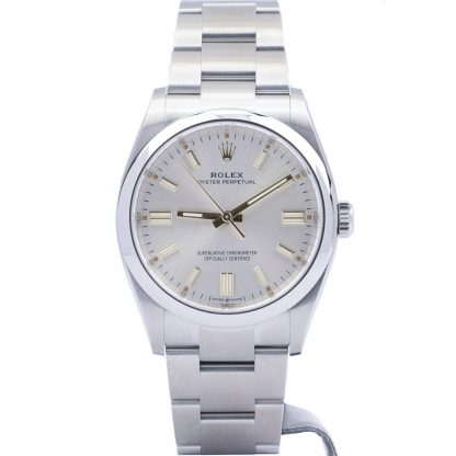 Rolex Oyster Perpetual 36 126000 Silver Dial December 2020