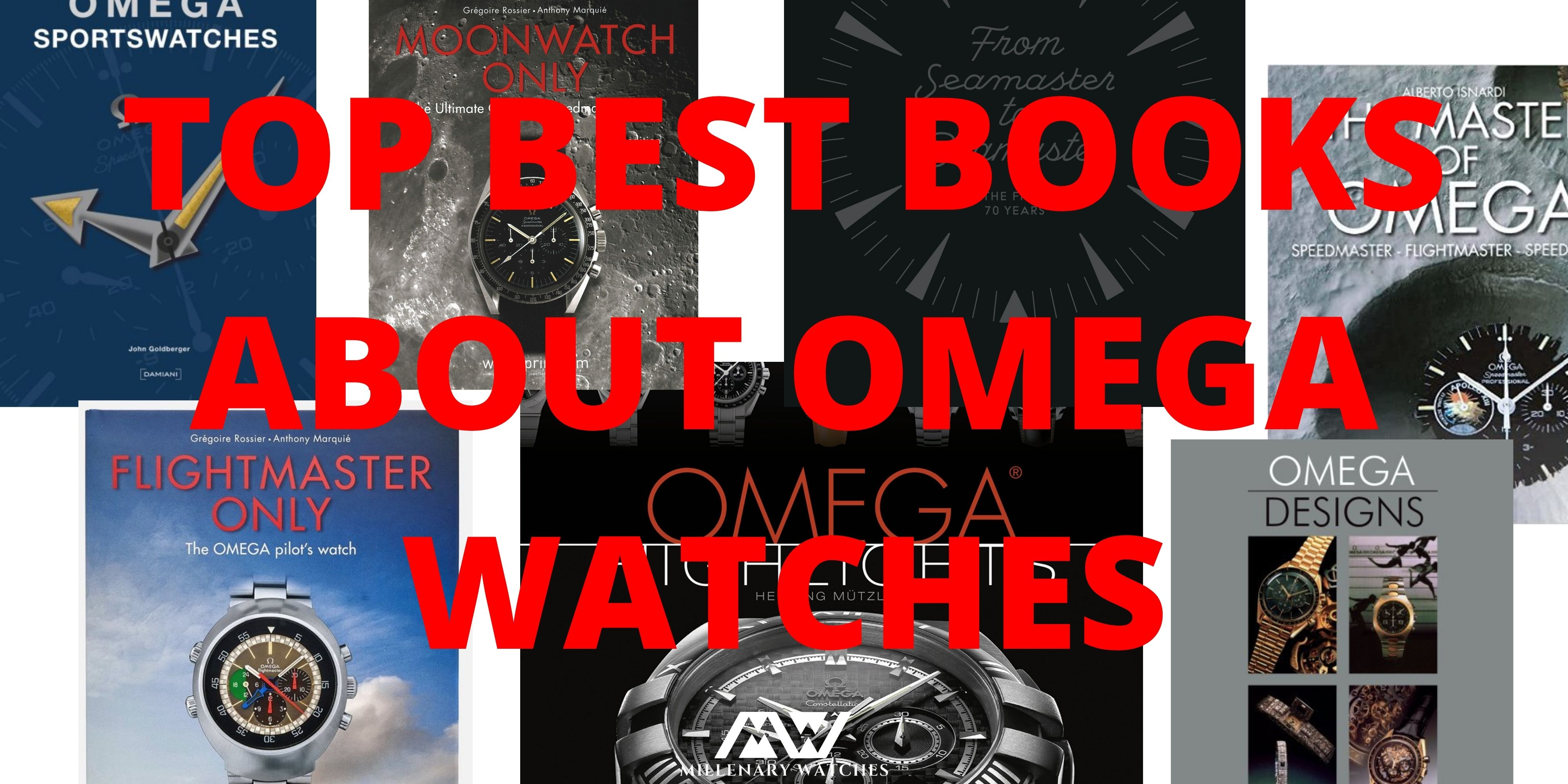 TOP BEST BOOKS ABOUT OMEGA WATCHES
