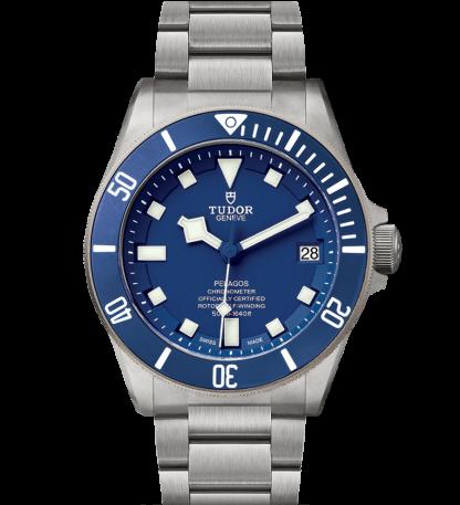 Tudor Pelagos Titanium Blue Dial 42mm 25600TB