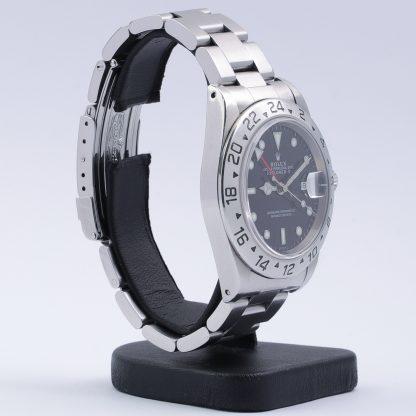"Rolex Explorer II 16570 ""Swiss Only"" 1999 Box & Certificate Black Dial"