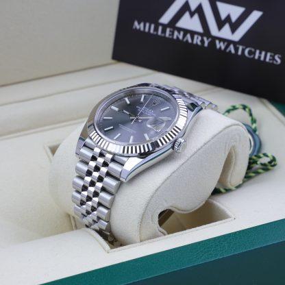 Rolex Datejust 41 126334 Rhodium Dial Jubilee 2018
