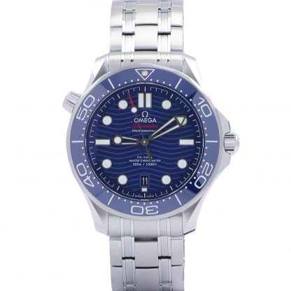 Omega Seamaster Diver 300 M Blue Dial 42mm New 2021