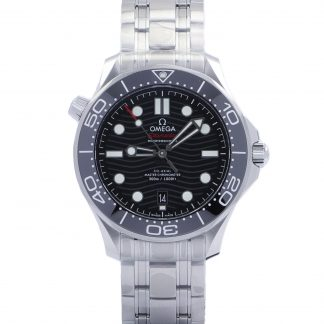 Omega Seamaster Diver 300 M Black Dial 42mm New 2021