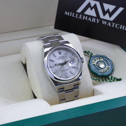 Rolex Datejust 36mm 126200 Silver Dial Fullset 2020