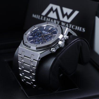 Audemars Piguet Royal Oak Chronograph 26320ST Blue Dial 2016