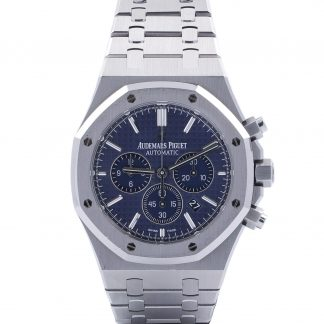 Audemars Piguet Royal Oak Chronograph 26320ST Blue Dial 2016