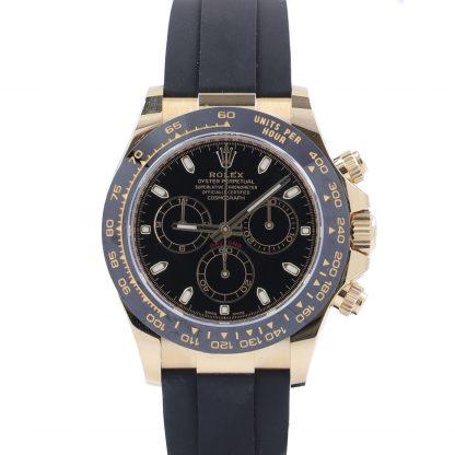 Rolex Daytona Cosmograph Yellow Gold Black Dial 116518 New 2021
