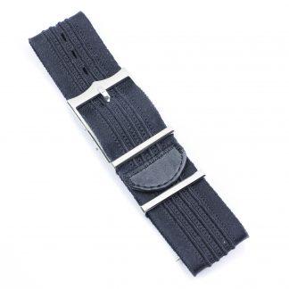 udor NATO Fabric Strap Black 22mm for Heritage Advisor