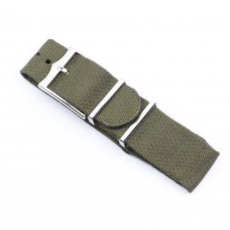 Tudor NATO Khaki Green Fabric Strap 22mm Black Bay 79730
