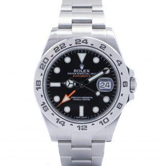 Rolex Explorer II 216570 Black Dial Fullset 2011