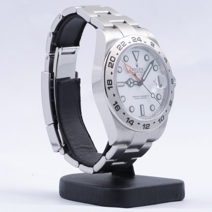 Rolex Explorer II 216570 White Dial Fullset 2019 Like New