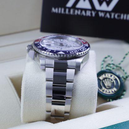 Rolex GMT Master II 126719BLRO Meteorite Dial Unworn 2021