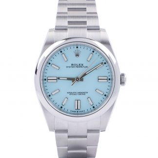 Rolex Oyster Perpetual 41 124300 Turquoise Dial 2021