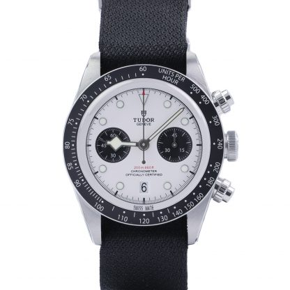 Tudor Black Bay Chronograph 79360-0008 White Dial Nato New 2021
