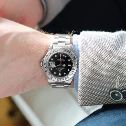 Rolex Explorer II 16570 Black Dial Tritium with Certificate