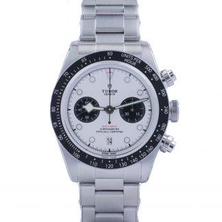 Tudor Black Bay Chronograph 79360N White Dial New 2021