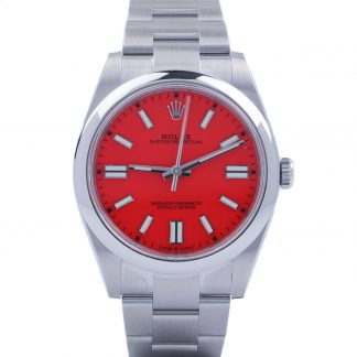 Rolex Oyster Perpetual 41 124300 Coral Red Unworn 2021
