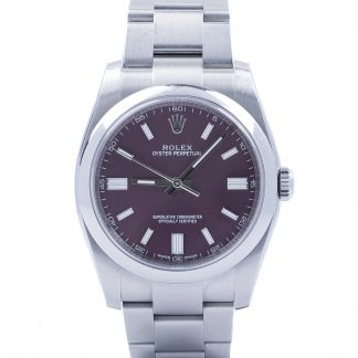 Rolex Oyster Perpetual 36 11600 Red Grape Dial 2015