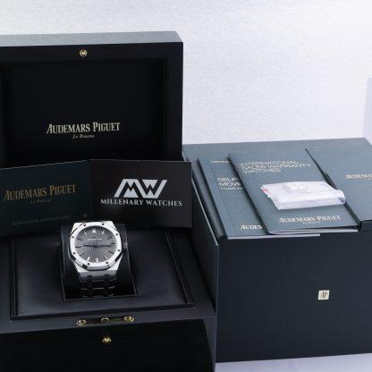 Audemars Piguet Royal Oak 15500ST.OO.1220ST.02 41mm Grey Dial Unworn 2019