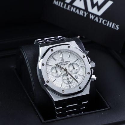 Audemars Piguet Royal Oak Chronograph 26320ST White Dial 2016