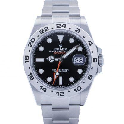Rolex Explorer II 226570 Black Dial Fullset Unworn 2021 Novelty