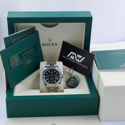 Rolex Sky-Dweller 326934 Black Dial Unworn 2021