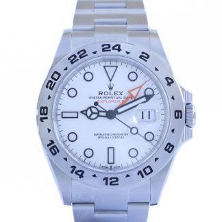 Rolex Explorer II 226570 White Dial Fullset Unworn 2021