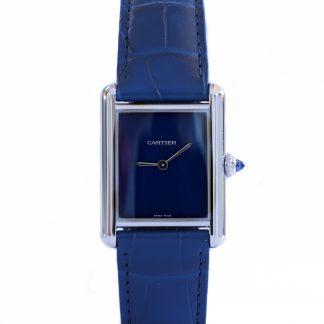 Cartier Tank Must Blue WSTA0055 Unworn 2021 Novelty