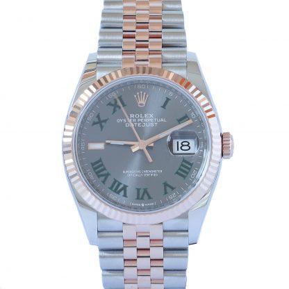 Rolex Datejust 41 126334 Azzurro Dial Jubilee Unworn 2021