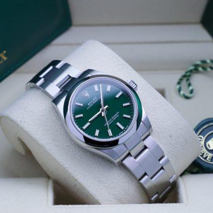 Rolex Oyster Perpetual 31mm 277200 Green Unworn 2021