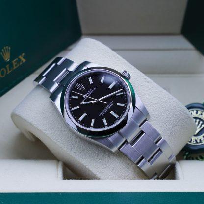 Rolex Oyster Perpetual 34mm 124200 Unworn 2021 Black Dial