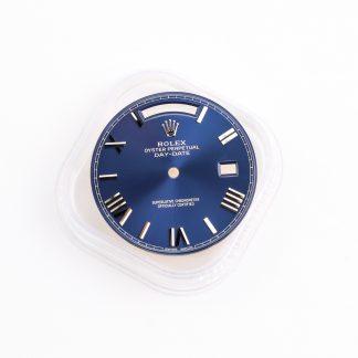 Rolex day date 228239 blue dial