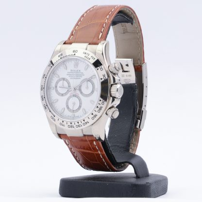Rolex Daytona White Gold 116519 NOS 2001 White Dial