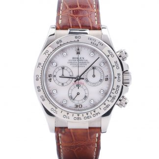 Rolex Daytona White Gold 116519 Mother of Pearl Dial