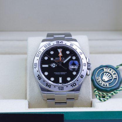 Rolex Explorer II 216570 Black Dial Box & papers 2013