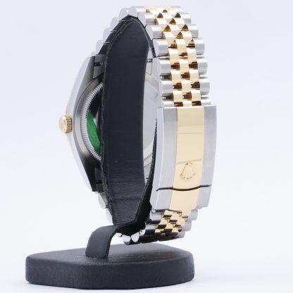 Rolex Datejust 36 126233 Champagne Palm Motif Dial New 2021